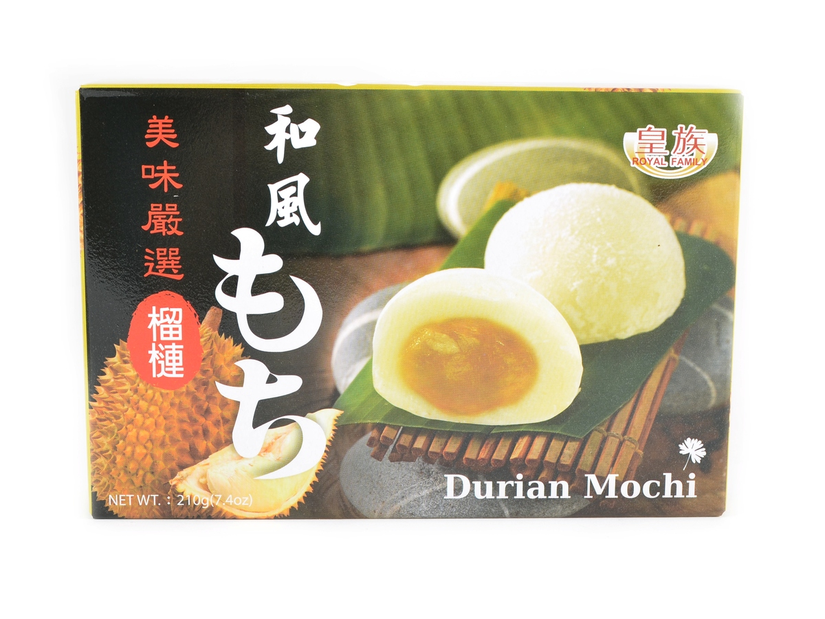 Royal Family Mochi s ovocem Durian, 210 g