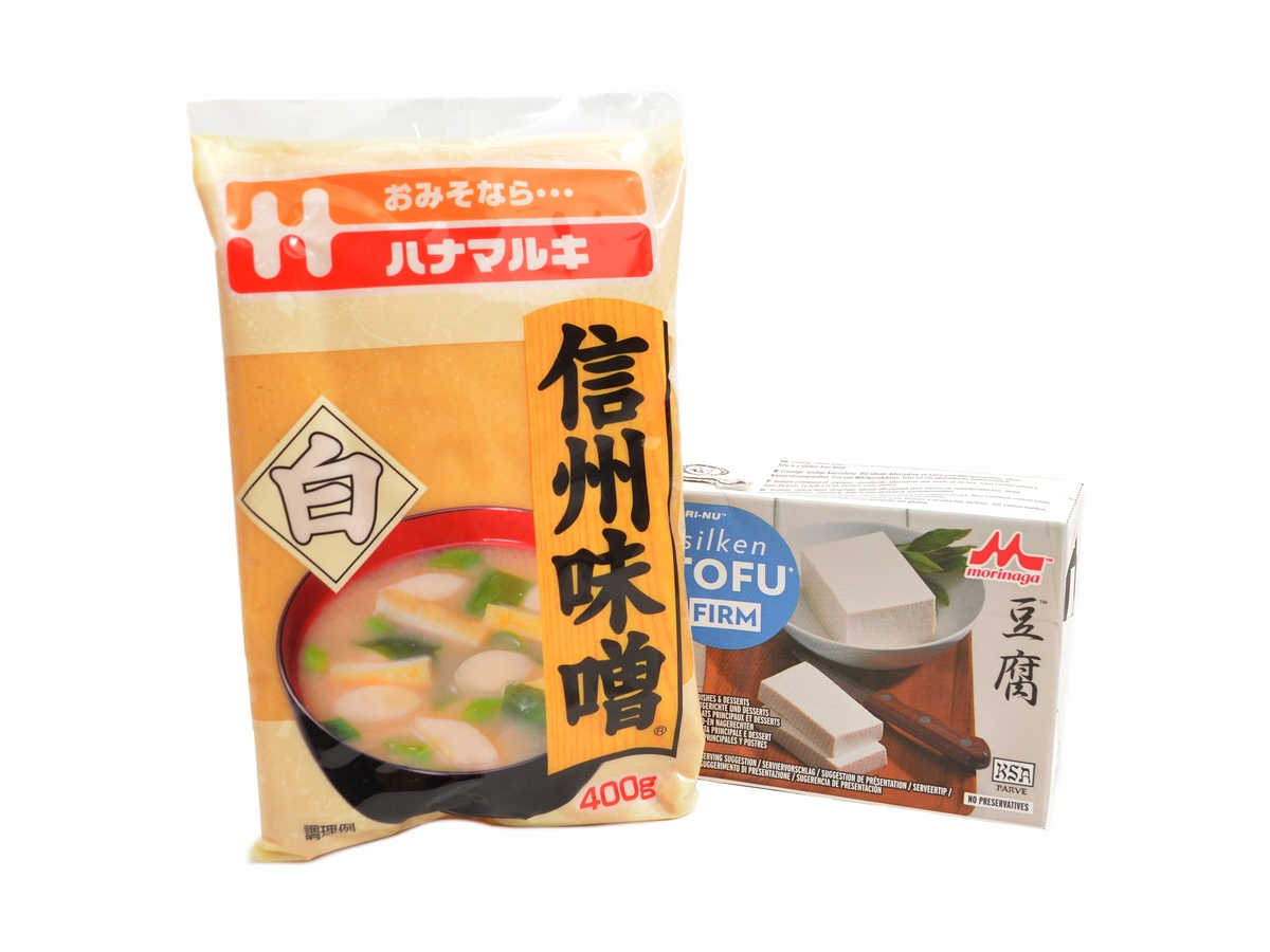 Set Tofu firm 349 g + Shiro miso 400 g