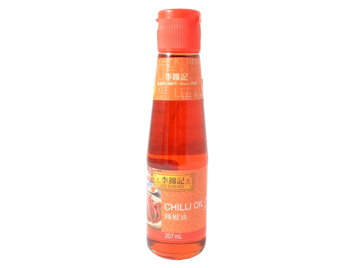 Lee Kum Kee Chilli olej, 207 ml