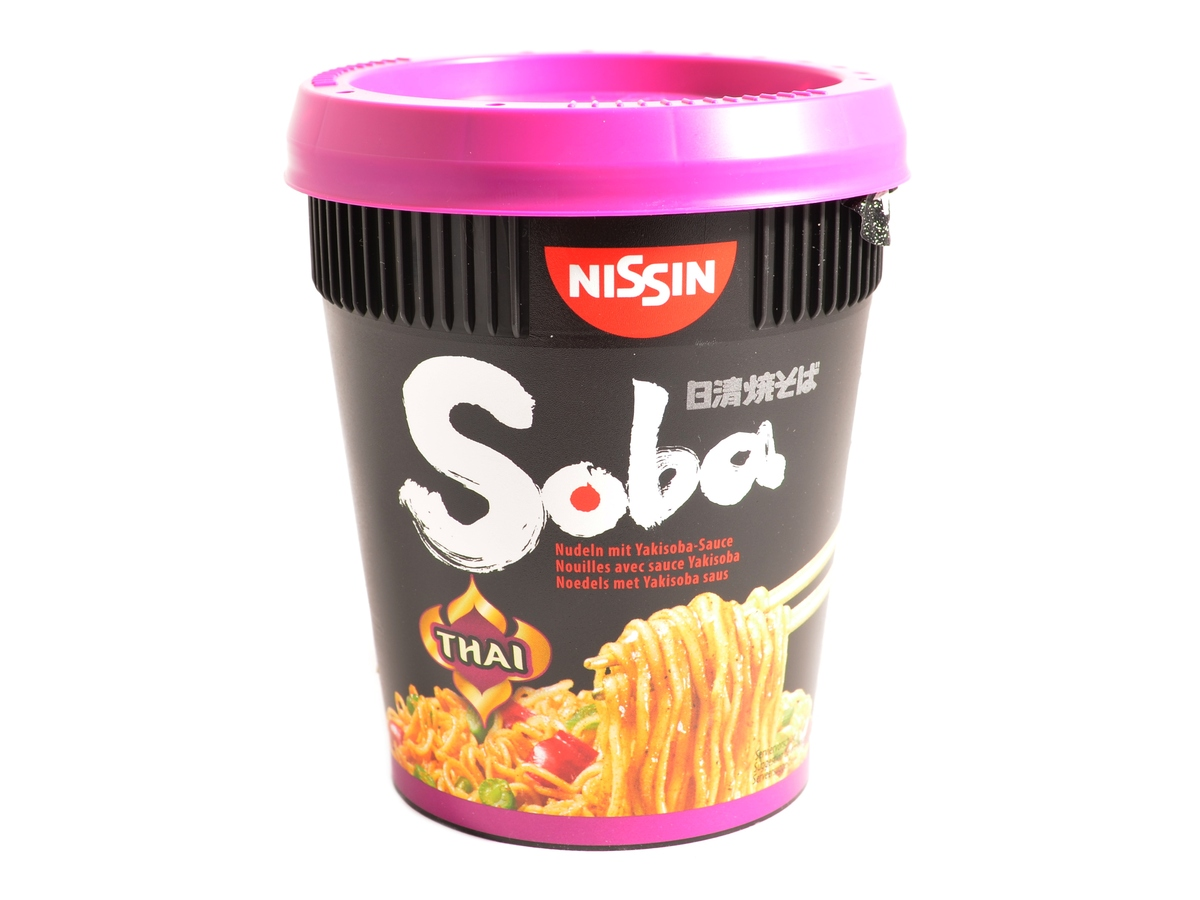 Nissin Cup Noodles Yakisoba Thai curry polévka, 87 g
