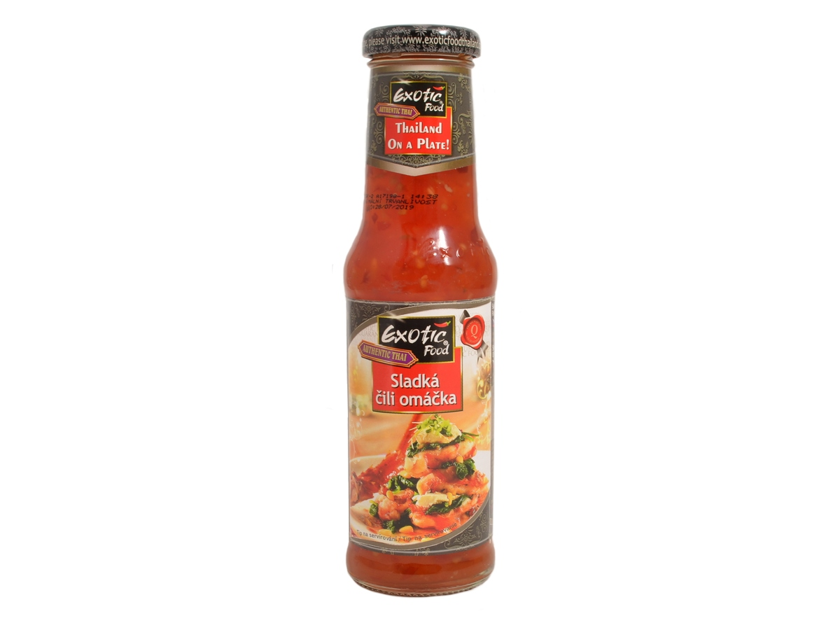 Exotic Food Chilli omáčka sladká, 250 ml
