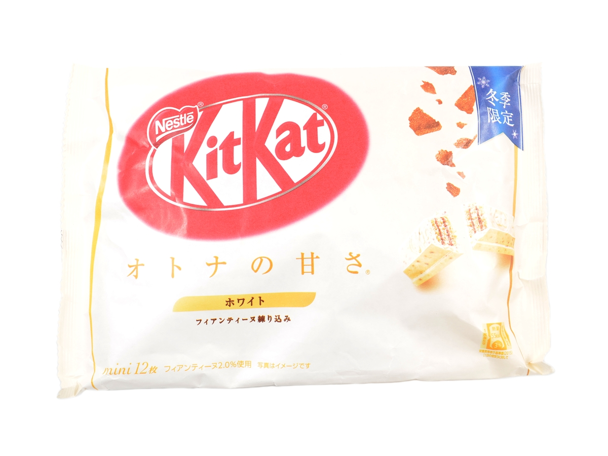 KitKat Mini Otona No Amasa Cookies Cream, 118,8 g