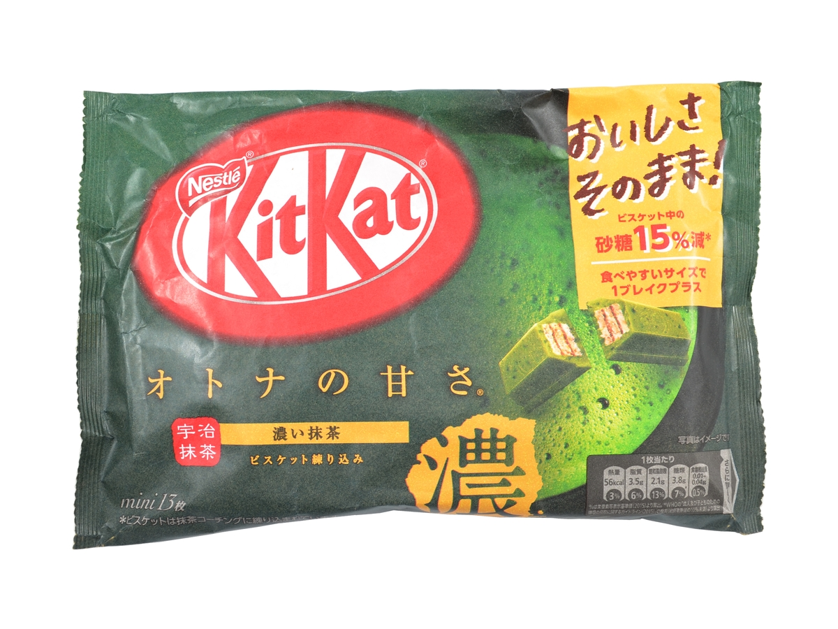 KitKat Mini Rich Matcha, 126,1 g