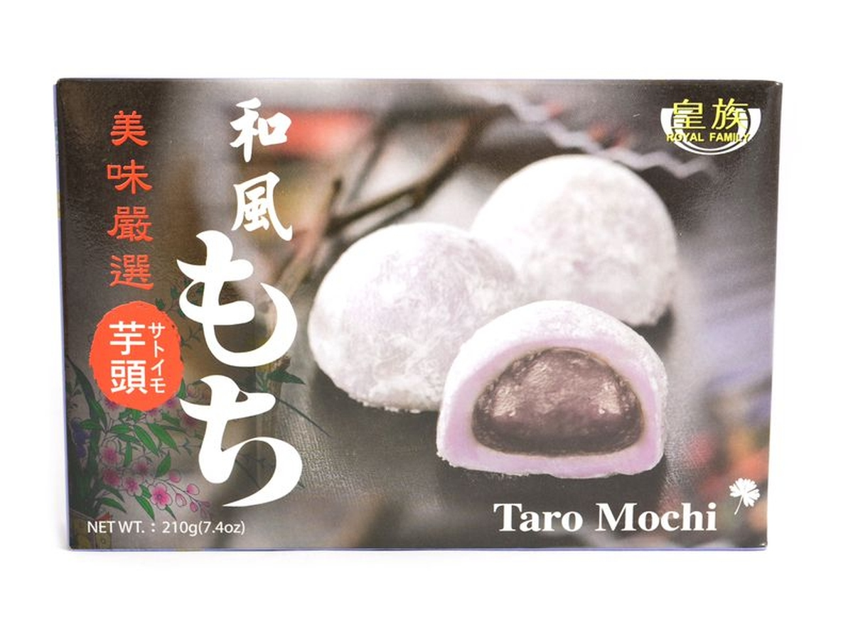 Royal Family Mochi s pastou Taro, 210 g